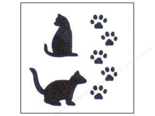 StenSource International Painting: StenSource Painting Stencil Cat Paws