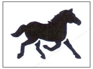 StenSource International 9 x 12: StenSource Painting Stencil Running Horse