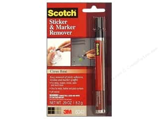 Scotch Cleaners and Removers: Scotch Adhesive Remover Pen .29 oz Carded
