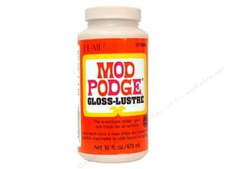 Glues, Adhesives & Tapes Sale: Plaid Mod Podge 16 oz. Gloss