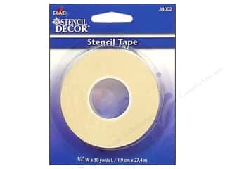 "Glue and Adhesives Yards: Plaid Stencil Decor Tape 3/4"" wide x 30 yards"