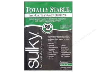 Sulky Totally Stable Stabilizer Pk 20&quot;x36&quot; Black