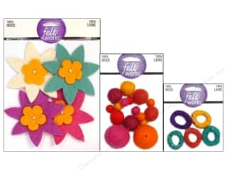 Dimensions 100% Wool Felt Embellishment, SALE $1.59-$13.49.