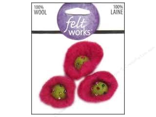 Dimensions Feltworks 100% Wool Felt Trumpet Flower