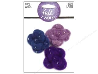 Dimensions Feltworks 100% Wool Felt Mini Mums