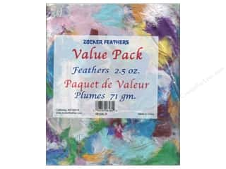 Zucker Feather Rooster Plumage V P Assorted 2.5 oz
