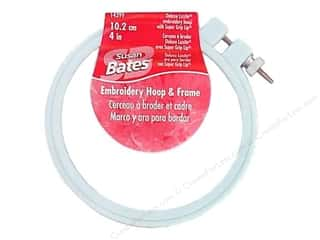embroidery hoop Quilting: Bates Embroidery Hoops Luxite Blue 4""