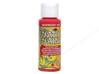 DecoArt Patio Paint 2oz Raspberry Red