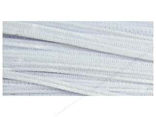 Chenille Stems 6 mm x 12 in. White 250 pc.