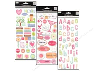 MAMBI Sticker Chipboard