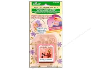 clover felt: Clover Felting Needle Applique Mold Flort&amp;Bry Dsgn