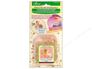 Clover Felting Needle Applique Mold Clvr&Rbbt Dsgn