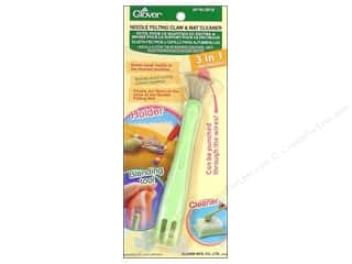 Clover Clover Natural Wool Roving: Clover Needle Felting Tool Claw & Mat Cleaner