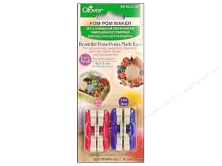 Fringe Makers / Tassel Makers / Pom Pom Makers: Clover Pom Pom Maker - Extra Small 2 pc.