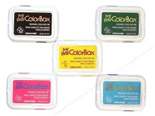 Stock Up Sale Adhesive: Colorbox My First Pigment Ink Pad Pad, SALE $1.99.