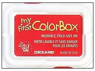 ColorBox Ink, Ink Pads & Brayers: My First ColorBox Dye Ink Pad Red