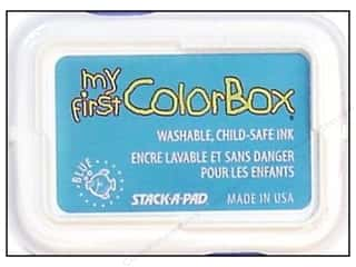 Stamping Ink Pads Blue: My First ColorBox Dye Ink Pad Blue