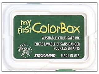 Kids Crafts Height: My First ColorBox Dye Ink Pad Green