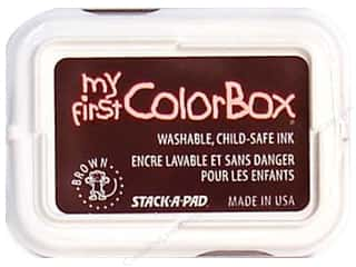 Stamping Ink Pads Brown: My First ColorBox Dye Ink Pad Brown
