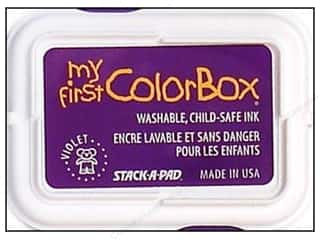 ColorBox Ink, Ink Pads & Brayers: My First ColorBox Dye Ink Pad Violet