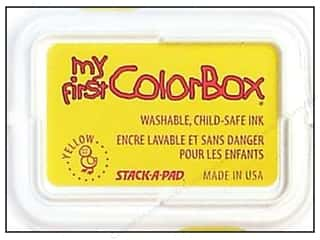 Kids Crafts Spring Cleaning Sale: My First ColorBox Dye Ink Pad Yellow