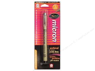 Dolls and Doll Making Supplies Black: Sakura Pigma Micron Pen .35mm Black Carded
