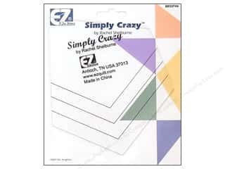 Templates EZ Quilting Acrylic Templates: EZ Quilting Simply Crazy Acrylic Template