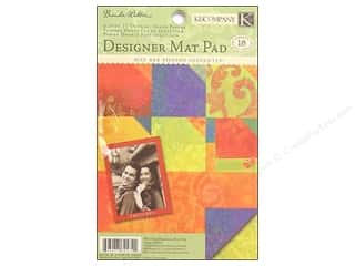 Patterns $4 - $6: K&Company Mat Pad 4.75x6.75 Mira