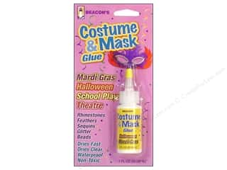 feather trimming: Beacon Costume & Mask Glue 1 oz.