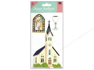 Religious Subjects Stickers: Jolee's Boutique Stickers Large Catholic Church