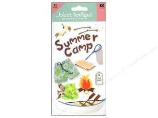 Clearance Blumenthal Favorite Findings: Jolee's Boutique Stickers Large Summer Camp
