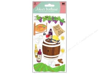 Jolee&#39;s Boutique Stickers Large Wine Country