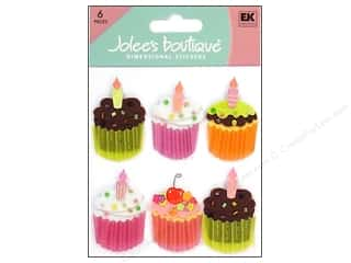 Food Stickers: Jolee's Boutique Stickers Cupcakes
