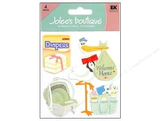 Clearance Blumenthal Favorite Findings: Jolee's Boutique Stickers Coming Home