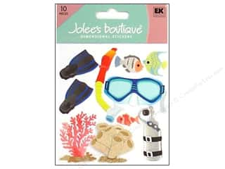 Beach & Nautical EK Jolee's Boutique: Jolee's Boutique Stickers Snorkeling