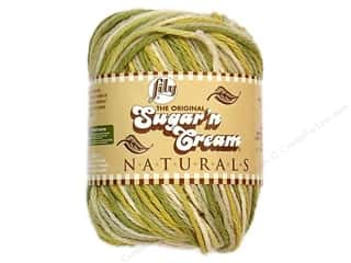 Sugar&#39;n Cream Yarn Naturals Guacamole 2oz