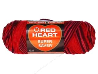 Red Heart Super Saver Yarn #0930 Lipstick 5 oz.