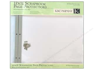 "K&Co Page Protector Refill Kit 12""x 12"" Clear 10pc"