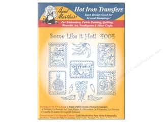 Drawing Hot: Aunt Martha's Hot Iron Transfer #4004 Blue Some Like It Hot