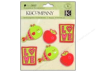 K&Co Sticker Charmers Berry Sweet Flexible