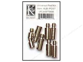 K&Co Album Extension Post Kit Universal Astd 8 pc
