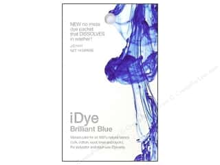 Jacquard Fabric Painting & Dying: Jacquard iDye Natural Fabrics Brilliant Blue 14 grams