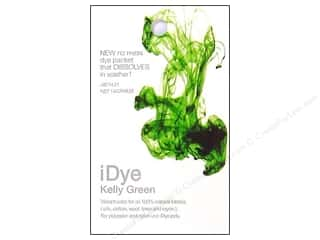 Fabric Painting & Dying Jacquard iDye Natural Fabrics: Jacquard iDye Natural Fabrics Kelly Green 14 grams