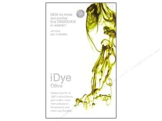 Jacquard Fabric Painting & Dying: Jacquard iDye Natural Fabrics Olive 14 grams