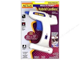 glue gun: Ad Tech Multi Temp Glue Gun Hybrid Cordless Mini