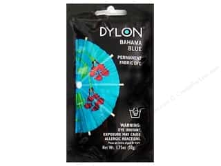 dye: Dylon Permanent Fabric Dye 1.75oz Bahama Blue