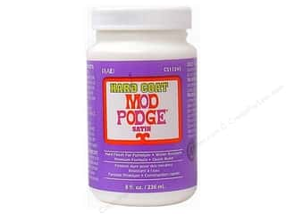 Glue and Adhesives Plaid Mod Podge: Plaid Mod Podge Hard Coat 8 oz.