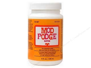 Glue and Adhesives Plaid Mod Podge: Plaid Mod Podge 8 oz. Satin