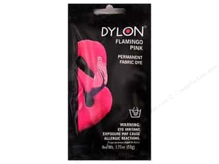 Dylon: Dylon Permanent Fabric Dye 1.75oz Flamingo Pink