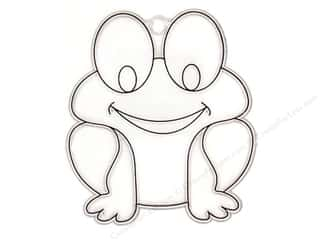 Kelly&#39;s Suncatcher Bulk Frog  3 x 3.5 in. (3 pieces)